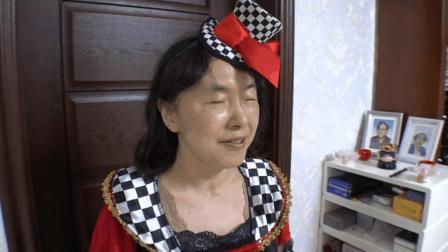 来自日本的盲人女士 是老师也是coser 30