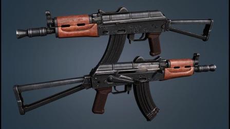 表尺射程只有500米的AKS-74U, 拥有冲锋枪的射速和机动性