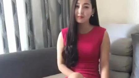 美女姐姐红裙自拍, 太迷人了