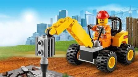 乐高世界 我的城市 乐高玩具游戏系列 第18集 在火山找到金砖[游乐园]