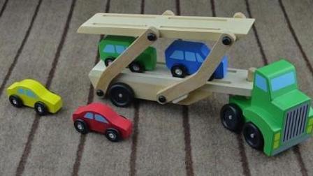 运输汽车的大卡车3 大卡车视频 闪电麦昆玩具汽车 汽车总动员国语版
