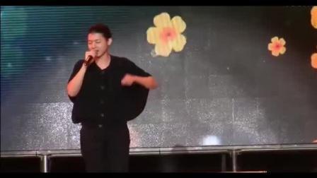 霍尊现场一曲中国风歌曲《天行九歌》一开声台下歌迷掌声沸腾了