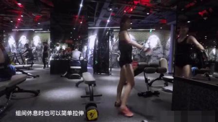 女生健身之背部训练, 你坚持健身了吗?