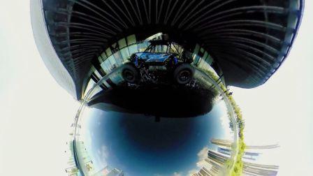 独特全景视角,玩具车的酷炫360环绕拍摄