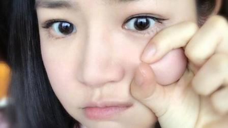 陈妍希发烧中仍坚持工作 晒出一张捏脸自拍 自侃烧成面包超人