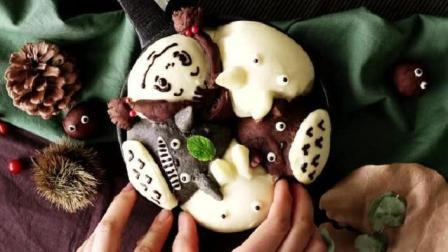 宝妈值得学的甜点: 宫崎骏动画里的龙猫面包