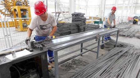 中国的一家小工厂, 15天建成200平的房子, 印度看的太服气
