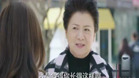 陈乔恩时装靓丽的出现,招惹一大妈前来搭讪,真是人美事多