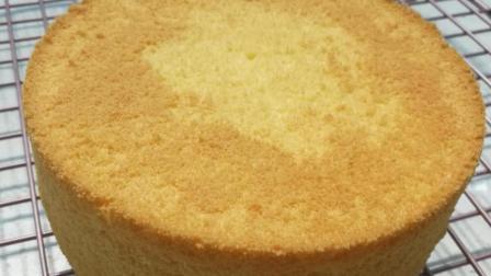 小鲜肉的烘焙日记蛋糕基础篇戚风蛋糕