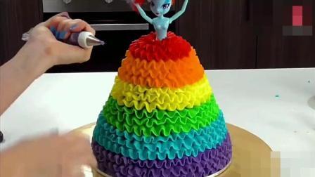 见过这么多做食品的, 你这样做蛋糕还真是头一次!