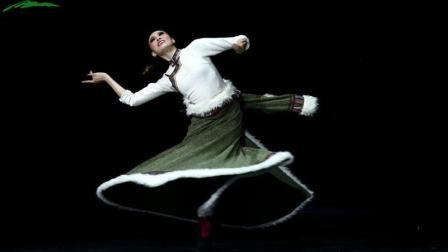 第二届全国少数民族优秀舞蹈作品展演视频! 藏族独舞《倾城》