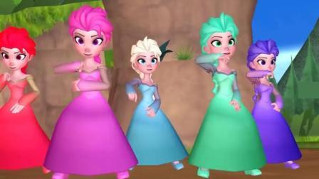 冰雪奇缘公主舞蹈之魔性神曲《PPAP》