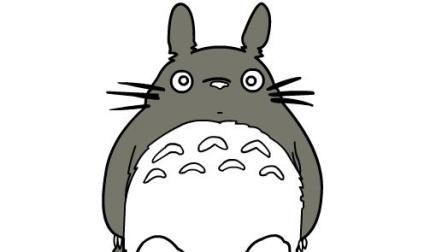 【xiao白鹭】儿童幼儿卡通简笔画 龙猫简笔画 卡通画 亲子学画画 少儿美术简笔画卡通画