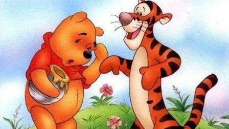 小熊维尼与跳跳虎   跳跳虎偷蜂蜜