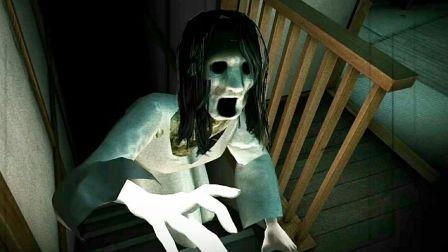 被小姐姐偷桃 手机最恐怖的日式恐怖游戏《试胆大会被诅咒的荒屋》睡前恐怖实况