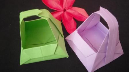纸篮子的折法步骤图, 一步一步教你折纸艺术, 折纸工艺简单又漂亮