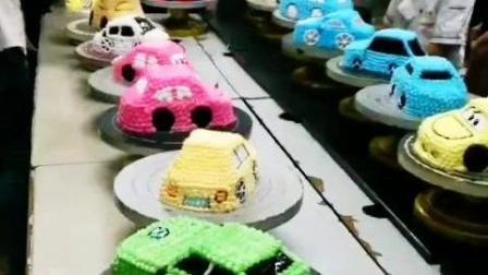 【蛋糕裱花班】学做汽车蛋糕