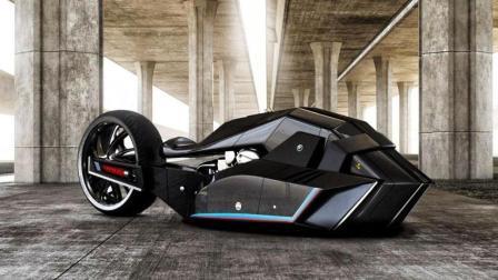 蝙蝠侠战车附体, 宝马Titan概念摩托