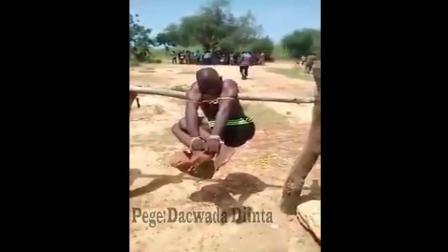 在非洲強X犯被捉到的下場!