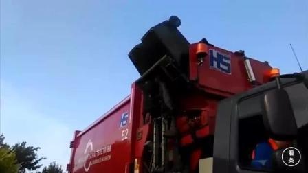 德国售价50万欧元的城市垃圾清理车, 看看它有啥
