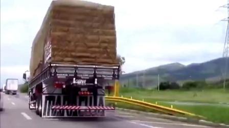奇葩设计, 货车后面怎么高!