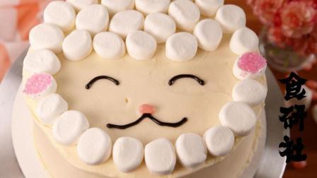要过生日了, 自己做个蛋糕给宝宝吧, 做个简单版的蛋糕有他喜欢的图案