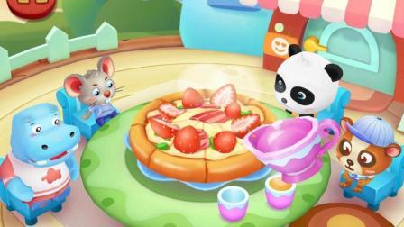 宝宝巴士之奇妙汉字烹饪: 妙妙做生日蛋糕给小伙伴吃陌雪解说