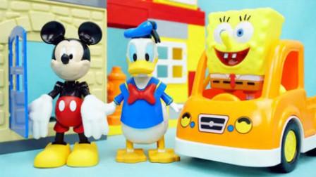 米老鼠和米奇妙妙屋第4季中文版 老鼠米奇道路赛车 米老鼠和唐老鸭国语版