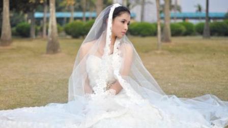 婚礼下雨, 新郎对新娘不管不顾, 新娘说.今晚别想上床,
