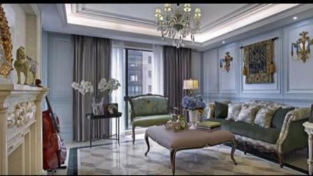 邯郸凤凰城三室两厅法式风格装修案例效果