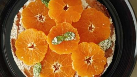 小清新橘子杏仁蛋糕