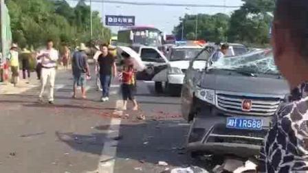沅益公路发生一起车祸