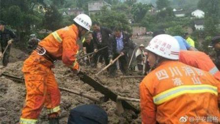 四川凉山发生泥石流, 八人死亡, 17人失踪,