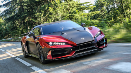 Italdesign Zerouno 百公里加速仅2.9s