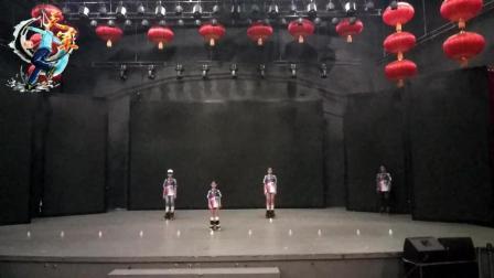 藁城电视台轮舞+花桩表演