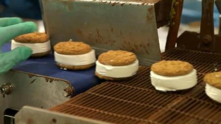 巧克力冰激凌生产过程, 这机械化程度能超越德国吗?