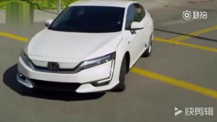 全新本田Clarity Electric电动汽车, 野外动态试驾展示