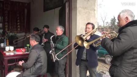 浙江衢州江山农村结婚喜庆: 家乡的仪仗队吹的真好听!
