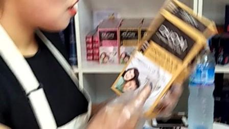 多爱彩色染发膏(国际版)咖啡色体验视频
