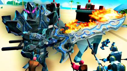 【屌德斯解说】 史诗战争模拟器2 新的史诗英雄铠甲勇士巨人登场横扫千军