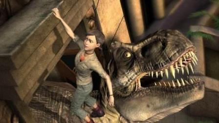 恐龙世界 第20期 拼装工程车装甲车去拯救恐龙 大结局 侏罗纪公园 亲子游戏