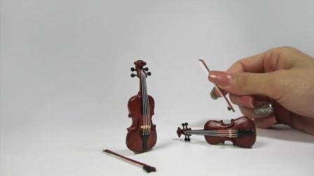 DIY迷你小提琴(用冰棒棍做的! )
