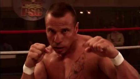 经典电影世界监狱黑拳大赛漂亮的回旋踢 赢家可以换取自由看到爽