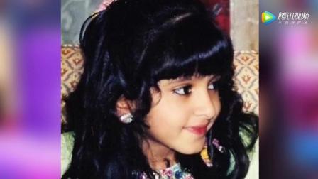 当年大红的迪拜公主 长大还是那么美