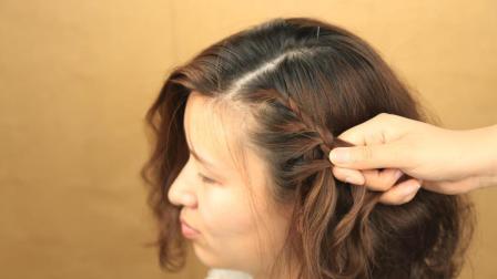 夏天女生短发型这样编, 端庄靓丽又优雅, 哪一款适合你?