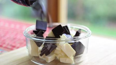 甜品美食系列教学 又软又甜的巧克力草莓夹心布朗尼!