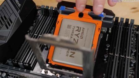 围观装CPU, 八千多的CPU啊!