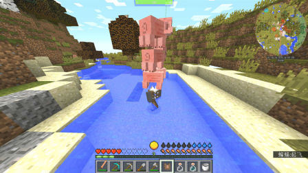 我的世界生活大冒险11:顶着猪猪的星星