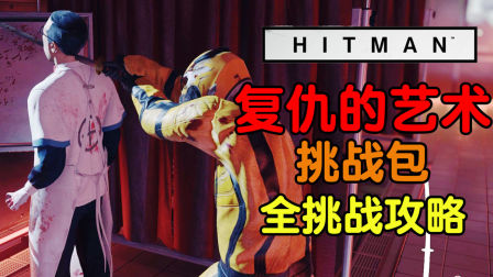魅影天王《杀手6》复仇的艺术 挑战包 全挑战攻略解说 最高画质