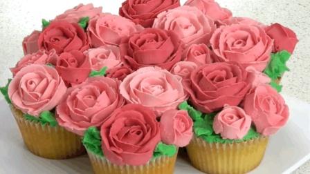 创意美食 牡丹花蛋糕团花朵朵 制作过程堪比艺术品